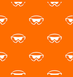Safety glasses pattern seamless vector