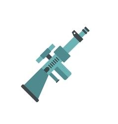 Toy gun icon vector image