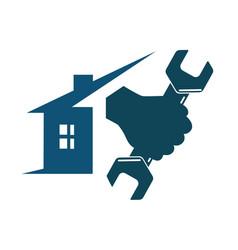 repair house vector image