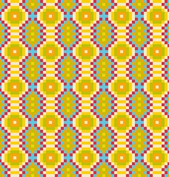 Colourful ethnic ornamental patterns Mexican vector image