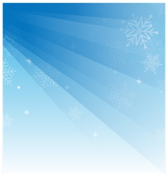 Abstract light blue christmas background vector