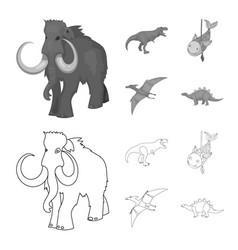 Animal and character symbol vector