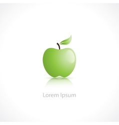 apple symbol vector image