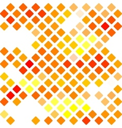 Background with mosaic pattern vector image