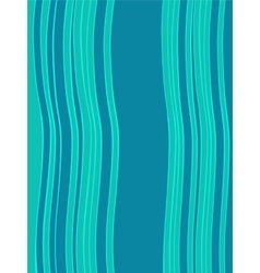 Blue green horizontal abstract wave retro vector