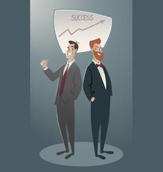 business cartoon-04 vector image