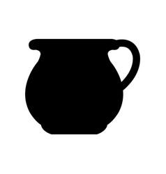 ceramic vase icon vector image