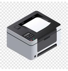 Printer icon isometric style vector