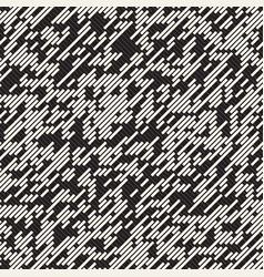 Seamless irregular lines grid pattern vector