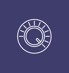 volume button icon vector image
