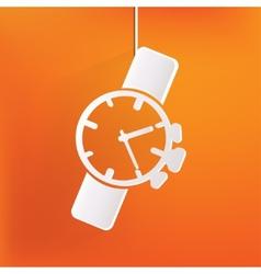Watchclock icon vector image