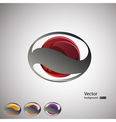 abstract backgroundset vector image