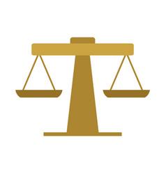 Bathroom scale icon vector
