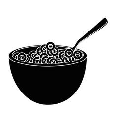 Breakfast cereal food vector