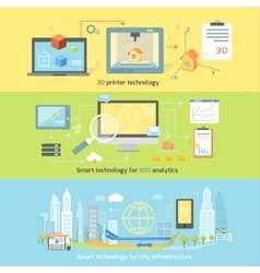 Concept Smart Innovation Technology vector