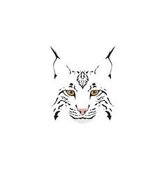 lynx logotype vector image
