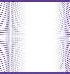 Perspective banner made purple squares tiles vector