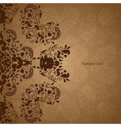 Vintage Indian Ornament vector image