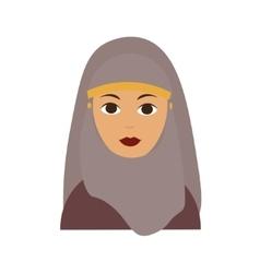Islam Woman Flat vector image vector image