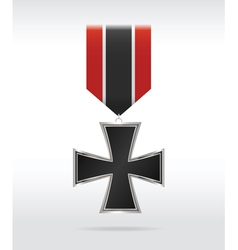 medal cross vector image