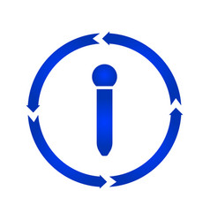 microphone turn icon vector image