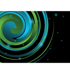 Abstract swirl background vector