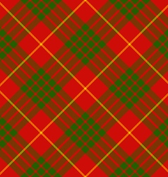 Clan cameron tartan diagonal seamless background vector