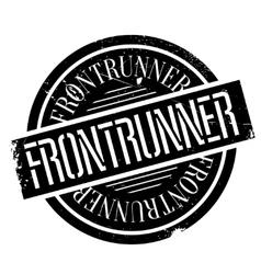 Frontrunner rubber stamp vector image
