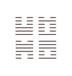 mandala rgb color icon vector image