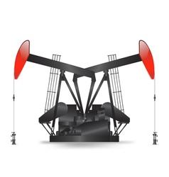 petrol pump vector image