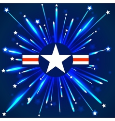 Abstract american stars background eps 10 vector