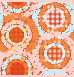Abstract grunge seamless chaotic pattern with vector