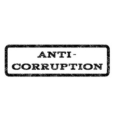 anti-corruption watermark stamp vector image