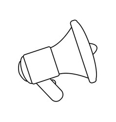 Bullhorn advertising symbol vector
