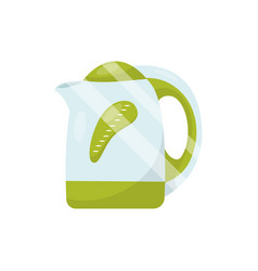 electric tea kettle household item kitchen vector image