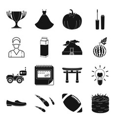 Food entertainment wedding and other web icon in vector