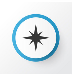 qiblah icon symbol premium quality isolated vector image