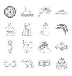 Sport history service and other web icon in vector