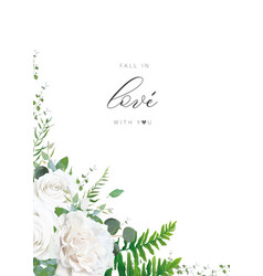 Wedding invitation invite save date template art vector