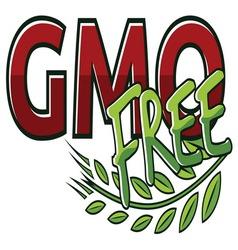 GMO FREE2 resize vector image