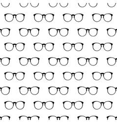 Eyeglasses pattern seamless vector
