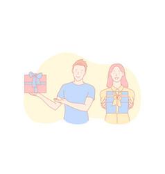 birthday congratulation holiday tradition vector image