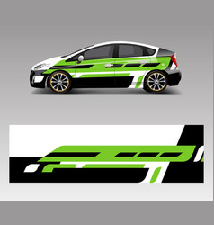 Company branding car decal wrap design graphic vector