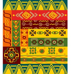 Ethnic patterns vector