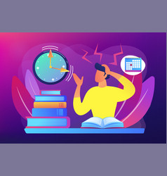 Exams and tests concept vector