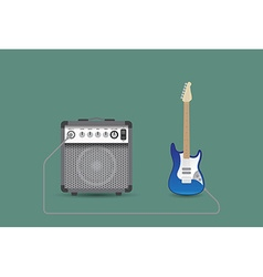 Guitar and combo vector