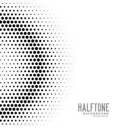Halftone gradient circles dot background vector