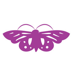 Image crimson butterfly - butterfly or color vector
