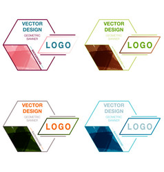 patterns set abstract background for design vector image