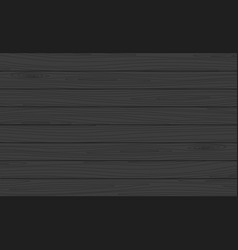 Wooden planks background dark wood texture vector